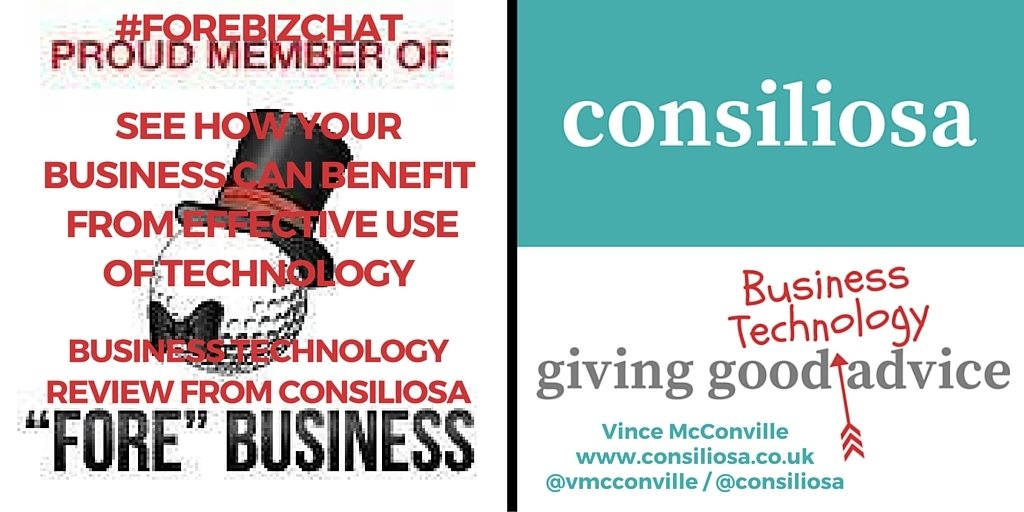 Twitter Post - ForeBizChat BTR From Consiliosa